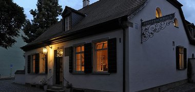 Feuerbach House in the evening