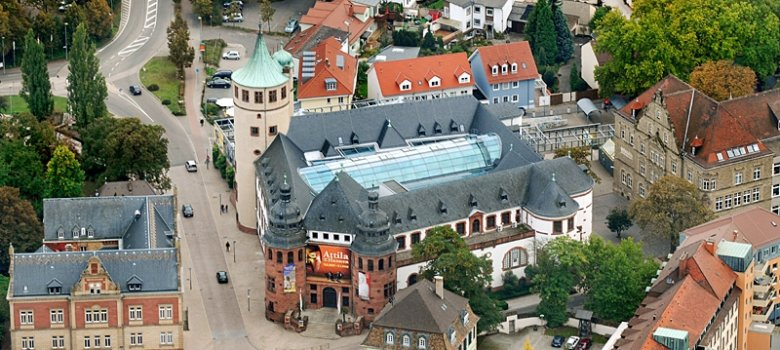 Historical Museum of the Palatinate aerial view