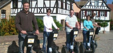 On the way with the Segway