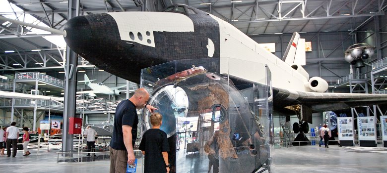 Buran Shuttle im Technik Museum Speyer