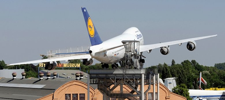 Boeing 747 in the Technical Museum of Speyer